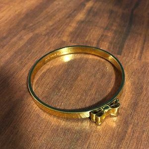 Kate Spade Gold Bracelet with Bow